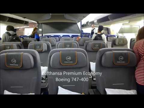 Lufthansa Premium Economy BKK-FRA 747-400 (January 2016)