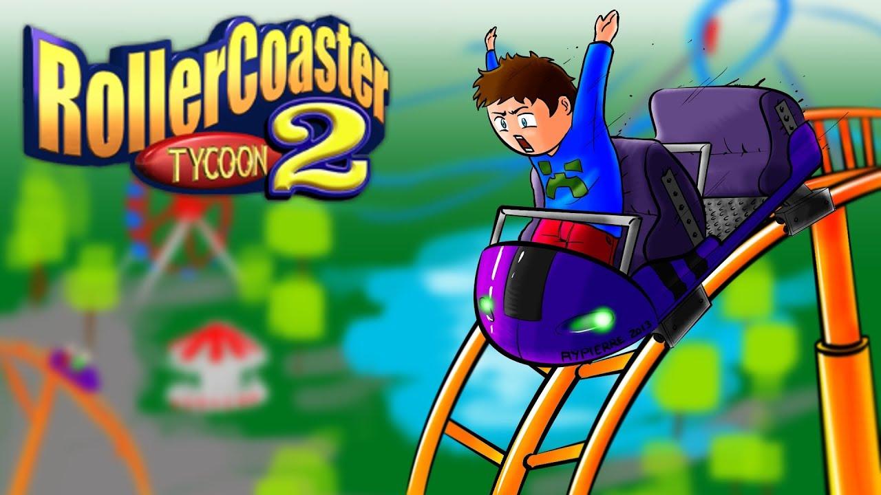 roller coaster tycoon 2 - ep 8 - inattendu - youtube