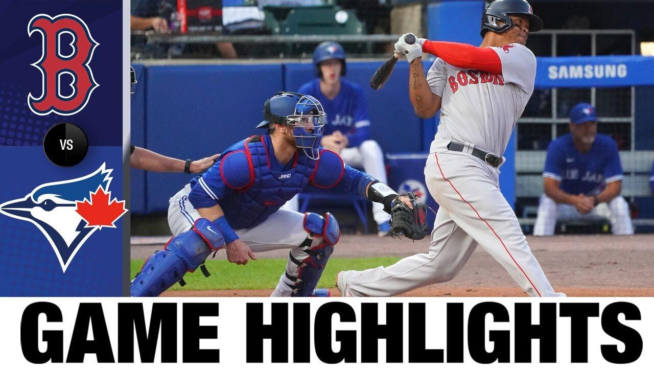 Download Red Sox vs. Blue Jays Game Highlights (7/21/21) | MLB Highlights