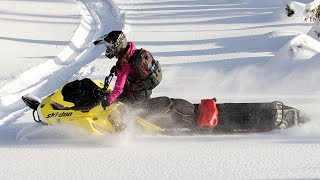 The best way to bring anything on your epic ride. Ski-Doo LinQ acce...