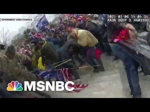 Federal Judge Releases More Capitol Riot Assault Video   MSNBC
