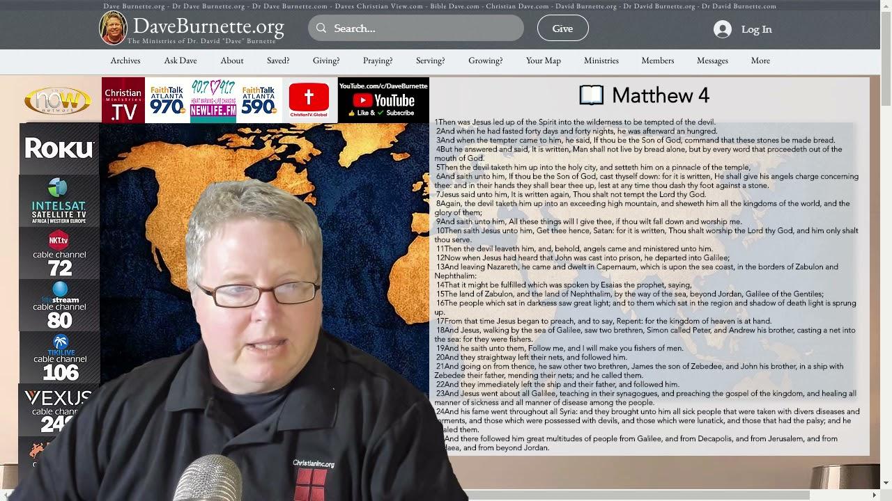 Matthew 4 ✒️ Fishers of Men