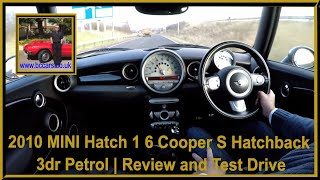 Virtual Video Test Drive In Our MINI Hatch 1 6 Cooper S Hatchback 3dr Petrol