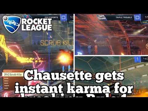 Daily Rocket League Highlights: Triple Trouble ceiling shot passing play thumbnail