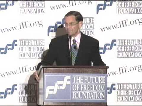 Bruce Fein at FFF Conference 2008, 1 of 7