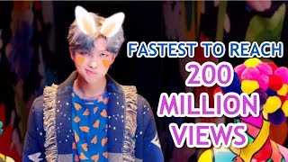 FASTEST K-POP GROUP MV TO REACH 200 MILLION VIEWS