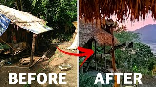 Woman builds her own PARADISE in the JUNGLE