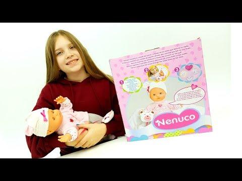 NENUCO COCCOLE la bambola interattiva che comunica con te come mamma! italiano, Casa delle bambole