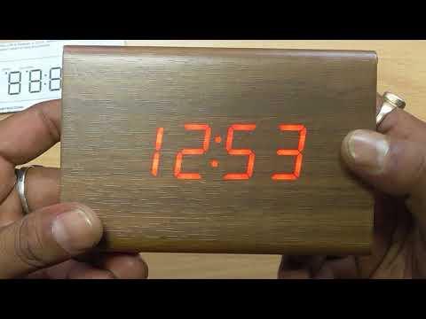 aito laatu myymälä parhaat tarjoukset WOODEN TRIANGLE ALARM CLOCK in HINDI TECHNICAL ASTHA - YouTube