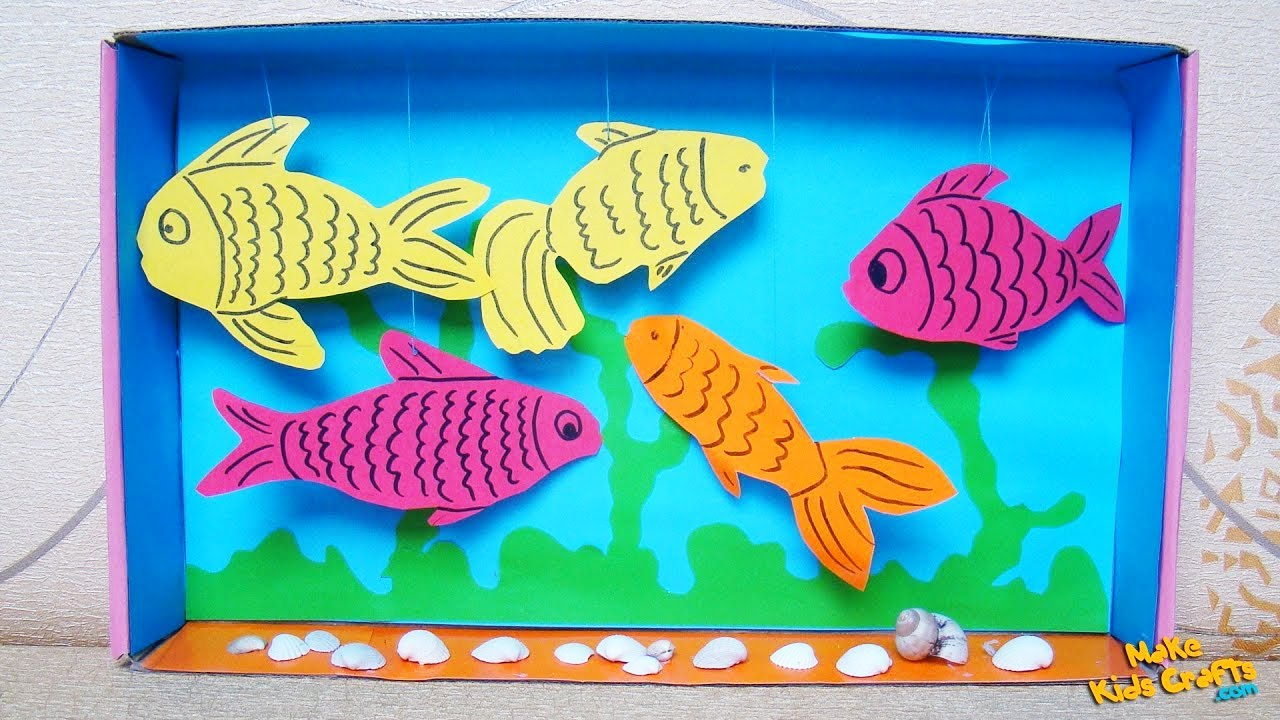 Design Your Home Free Online 3d Aquarium Kids Crafts Youtube