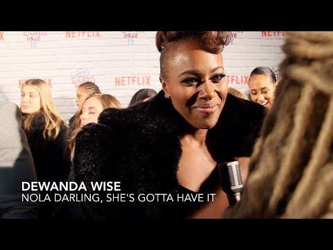 """She's Gotta Have It"" DeWanda Wise Talks Nola Darling, Black Female Sexuality, Spike Lee"