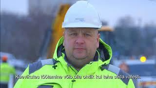 """Tööinspektsiooni auhinna """"Hea töökeskkond 2015"""" laureaat Tallinna Vesi"""