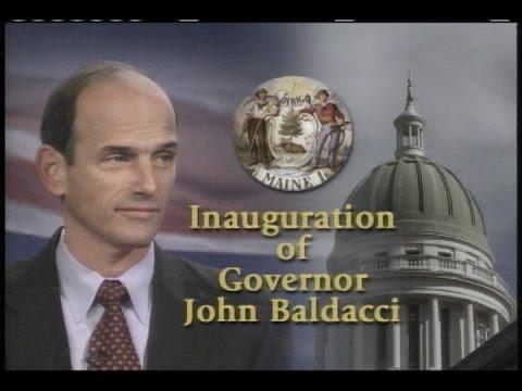 2003 Inauguration of Maine Governor John Baldacci