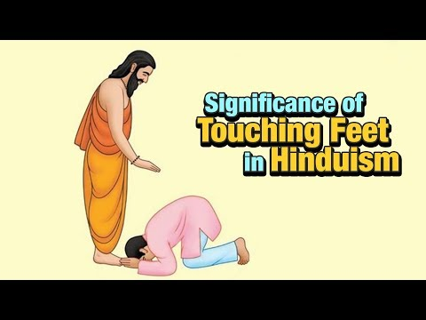 Significance of Touching Feet in Hinduism | Indian Tradition | Science Behind Touching Feet In India