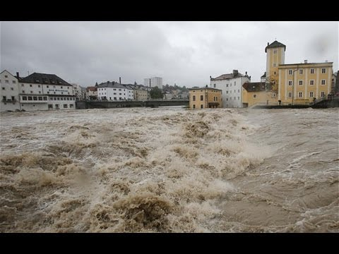 Flooding in central Europe hits towns in Germany and Austria