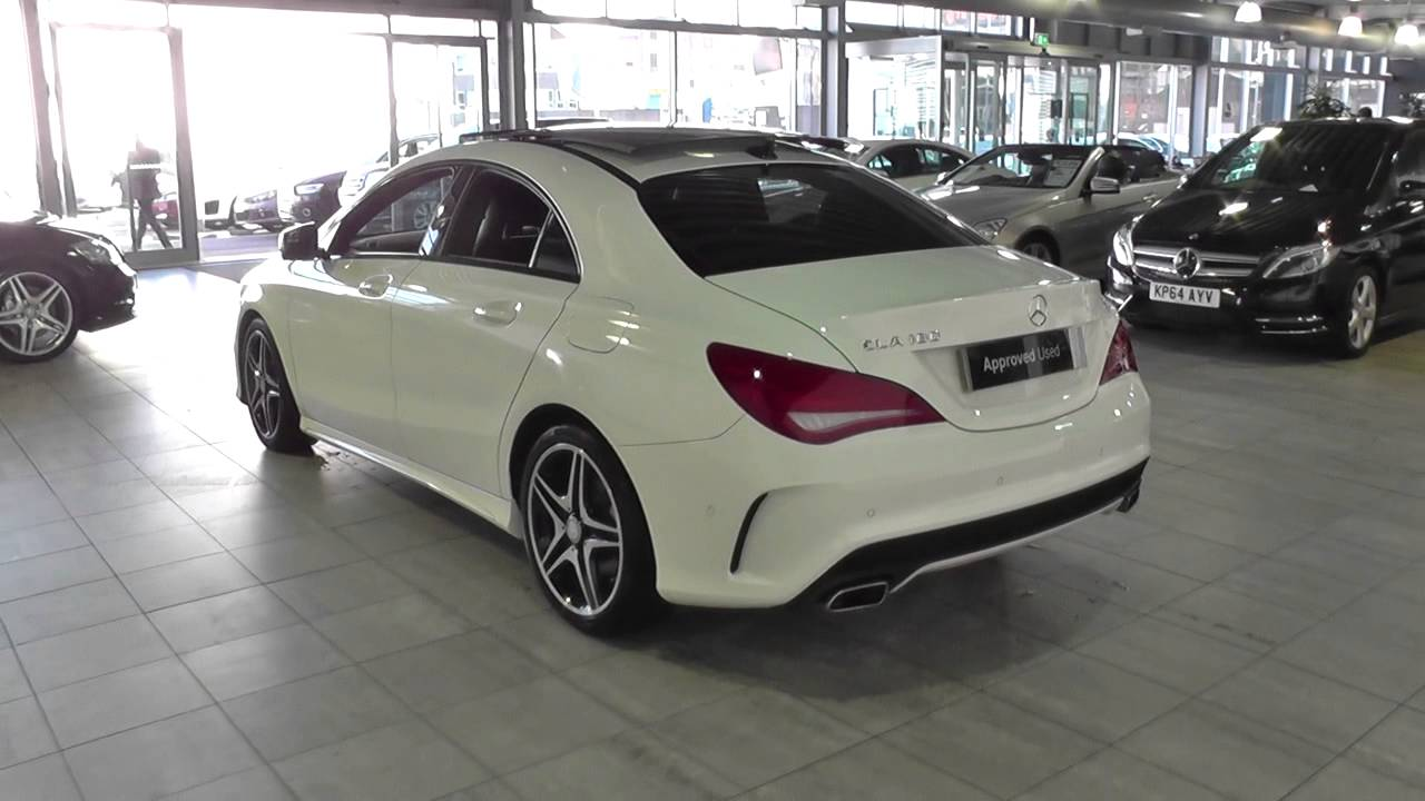 mercedes benz cla class cla 180 amg sport 4dr u44256 youtube. Black Bedroom Furniture Sets. Home Design Ideas