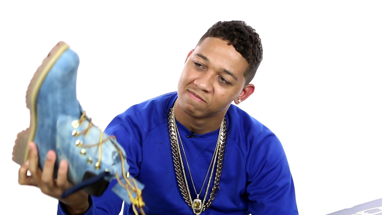 official images hot-selling discount strong packing Timberland Denim Boot Presented by Jimmy Jazz and 21 Savage Unboxing by Lil  Bibby