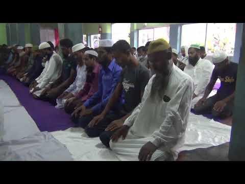 দিনাজপুরে সউদী আরবের সাথে মিল রেখে ঈদুল আযহার নামাজ আদায়