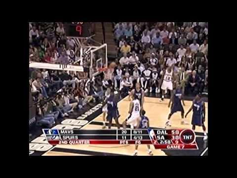 2006 WCSF - Dallas vs San Antonio - Game 7 Best Plays