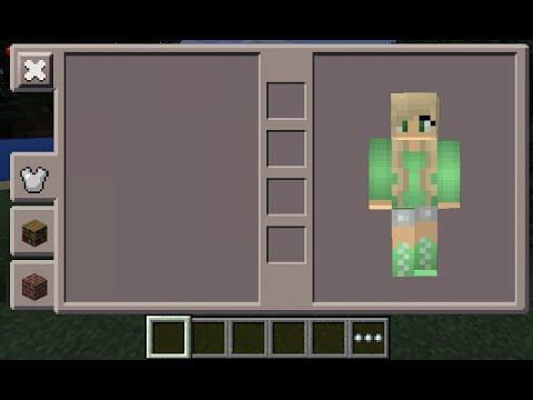 Minecraft Slime Girl Skin
