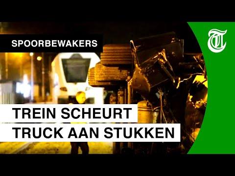 Horrorcrash door kansloze actie trucker - SPOORBEWAKERS #11