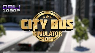 City Bus Simulator 2018 PC Gameplay