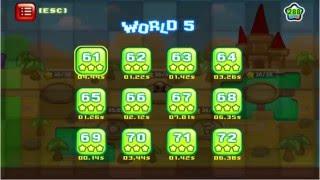 Kill The Plumber Steam Game World 5 Walkthrough [3 Stars Level 61-72]