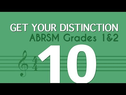 Learn music theory 10 - writing with accidentals - ABRSM Grades 1 and 2