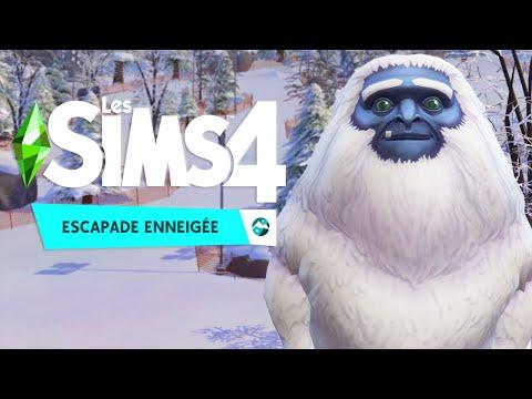 UN YÉTI FAIT DU SKI ! - Les Sims 4: Escapade Enneigée