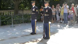 Wachablösung Friedhof Arlington - The Unknown Soldier