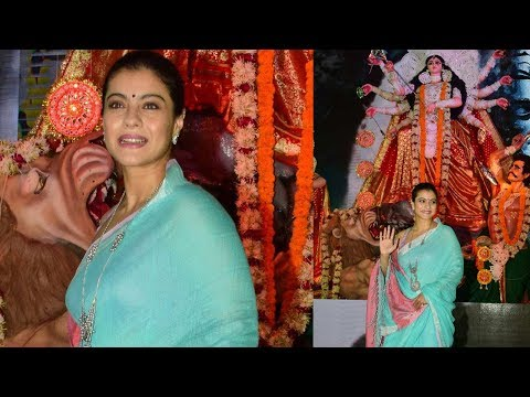 Kajol's Durga Puja 2017 | North Bombay Sarbojanin Durga Puja