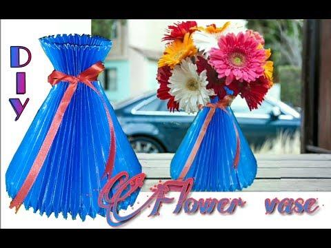 Diy How To Make Paper Flower Vase Flower Pot