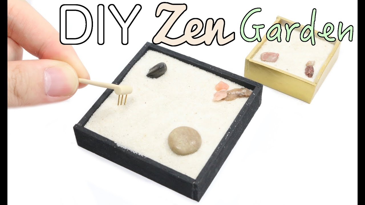 Attrayant DIY Zen Garden Tutorial