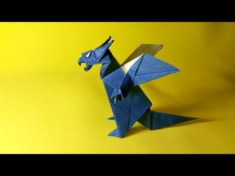 Origami Western Dragon (Jun Maekawa)