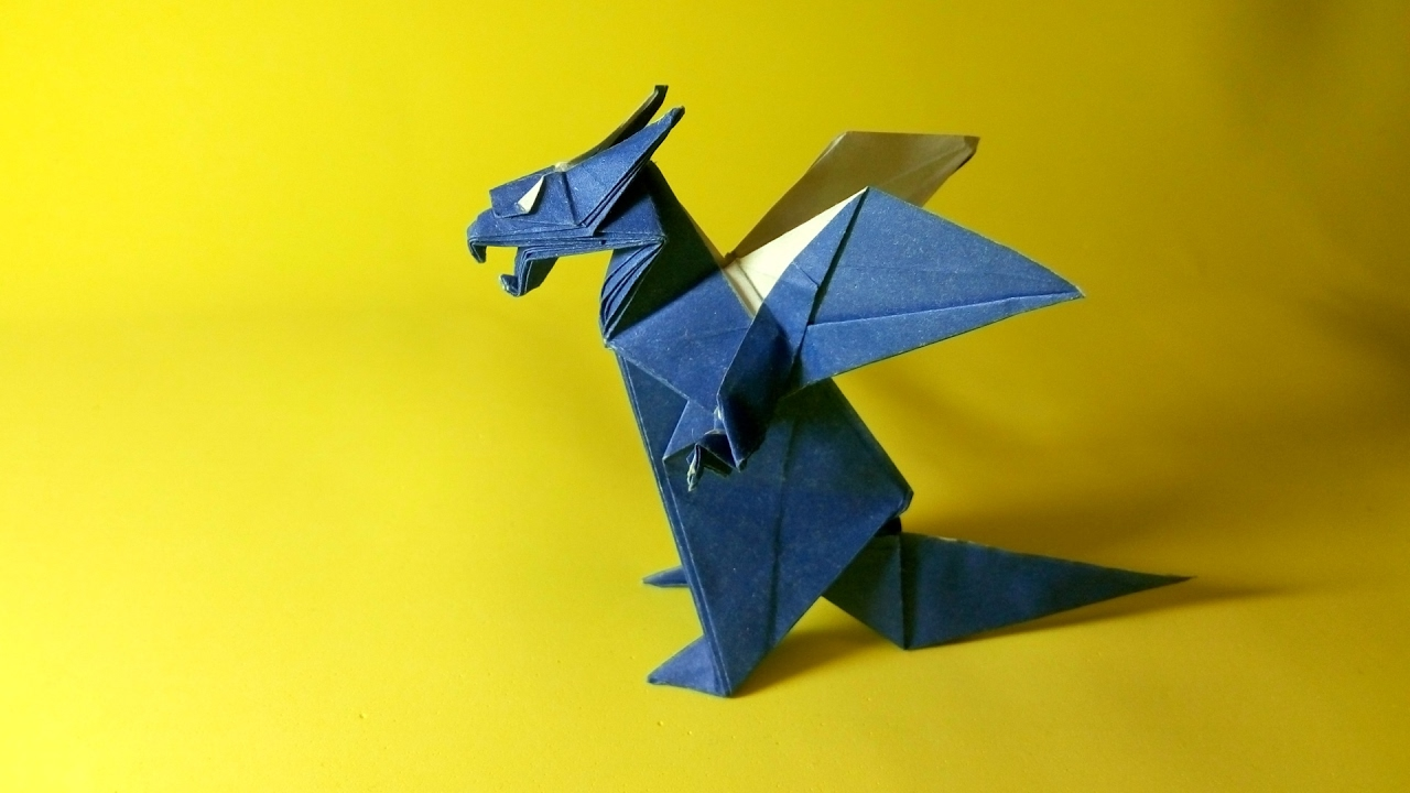 Origami Western Dragon Jun Maekawa