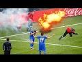 עשר הפצצות הכי מטורפות שאוהדים זרקו על השחקנים!!