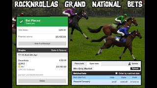 My Grand National Bets!!