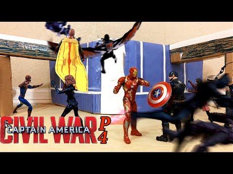 Captain America Civil War Part 4 STOP-MOTION Film