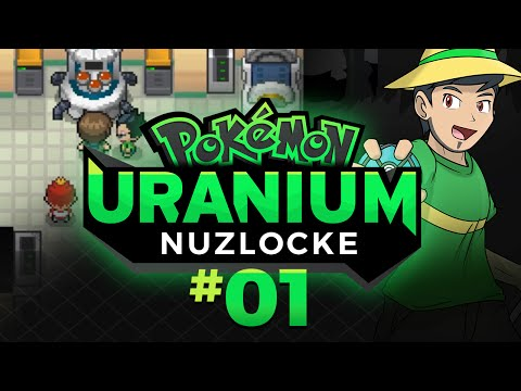 Pokemon Uranium Nuzlocke Let's Play w/ aDrive EP01: Choosing Our Starter!