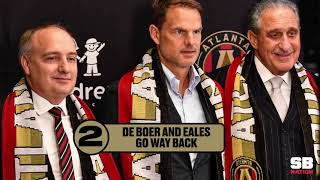 Training Ground: Frank de Boer's approach as manager for Atlanta United