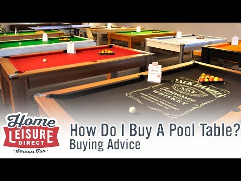 How Do You Own A Pool Table? - Pool Table Buying Advice