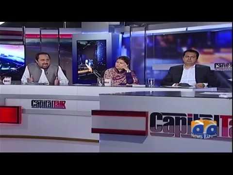 Capital Talk - 22 August 2017 - Geo News