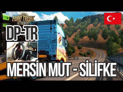 Euro Truck Simulator 2 Mersin Mut-Silifke DP-Türkiye Haritası + WheelCam