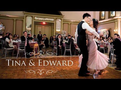 Tina And Edward  -  Langham Pasadena Wedding