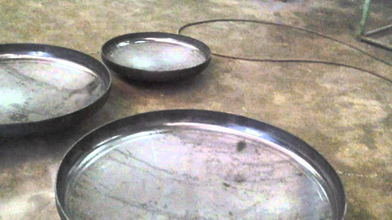 Bombeado y pesta ado de tapas para tanques metalicos youtube for Criadero de cachamas en tanques