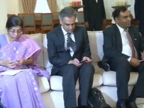 Indian Foreign Minister meets Indian origin Tamils in Sri Lanka