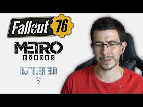 Смотрим трейлеры новых игр (E3 2018)