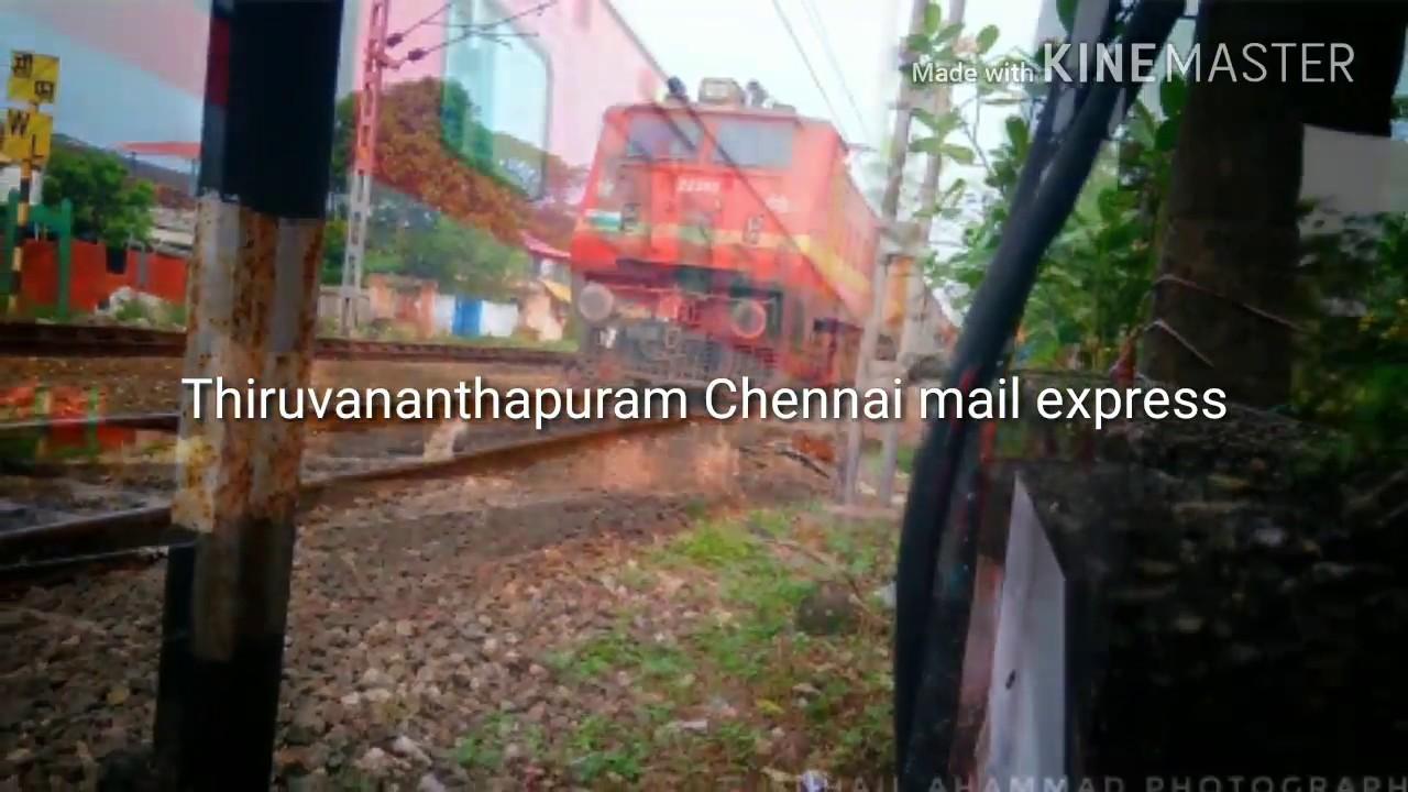 Thiruvananthapuram Chennai mail superfast express(12624) look Description  WhatsApp group link