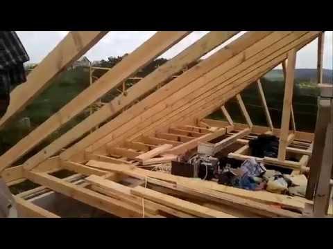 Крыша конвертом