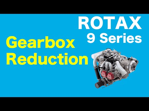 Rotax 9 Series Aircraft Engine - Gearbox Reduction